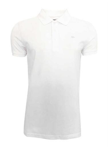 Kappa Rdk Polo T-Shirt Larz  Beyaz